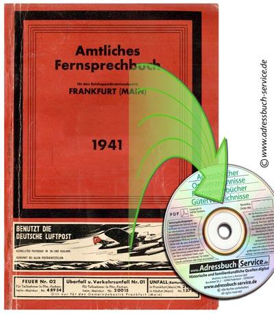Telefonbuch Frankfurt